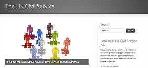Civil Service homepage
