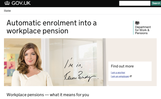 DWP workplace pensions