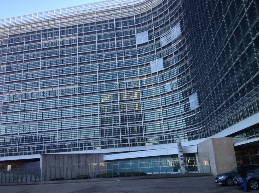 Photo of the Berlaymont building by Jordan Hatch