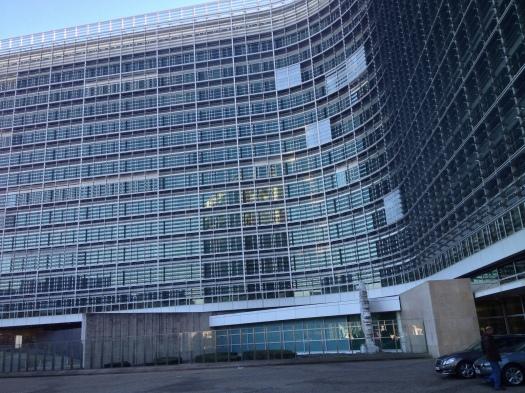 Photo of the Berlaymont building by Jordan Hatch