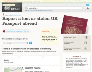 This screengrab is from the alpha of GOV.UK - it's still available (albeit a bit broken) courtesy to National Archives.
