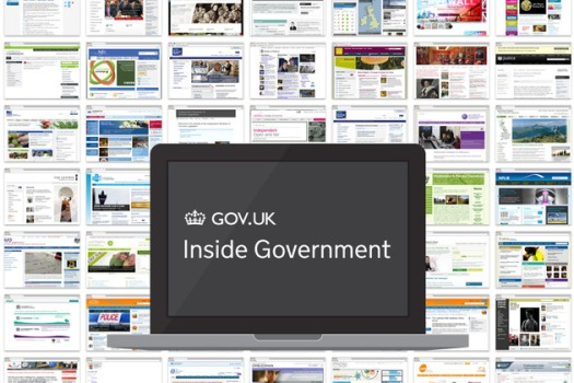 Inside Government pages montage